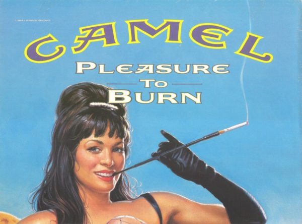 Camel Cigarettes Pleasure 2000 Ad. R. J. Reynolds Tobacco Company. Surgeon General's Warning: Smoking By Pregnant Women may result in fetal injury, premature birth, and low birth weight. Camels since 1913. Tobacco Products. Stock Number: 12008-T-W.