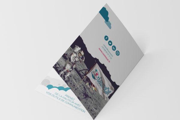 brochure-a5-4eme-cosmocat-agence-communication-graphiste-nancy