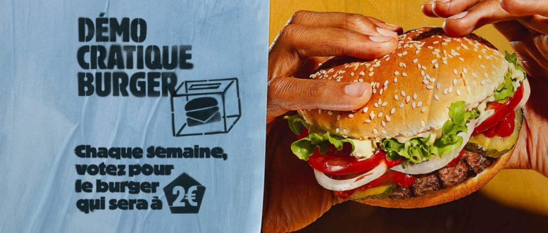 Burger King s'essaie au RIM (Référendum d'initiative marketing)
