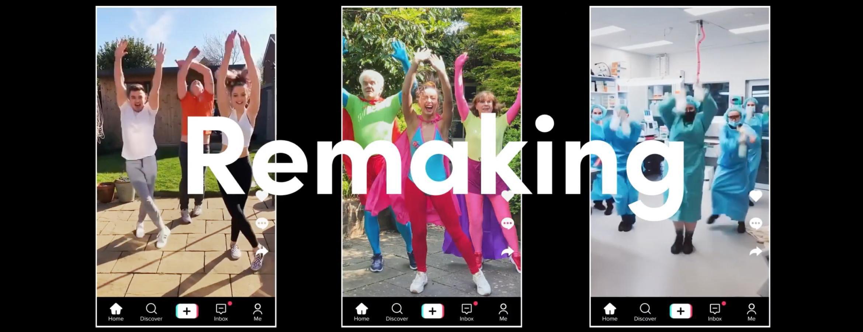 Le réseau social Tik Tok promotionne son extravagance virtuelle dans une vidéo tout aussi déjantée